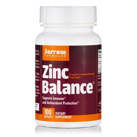 Jarrow Formulas Zinc Balance, 100 капсул