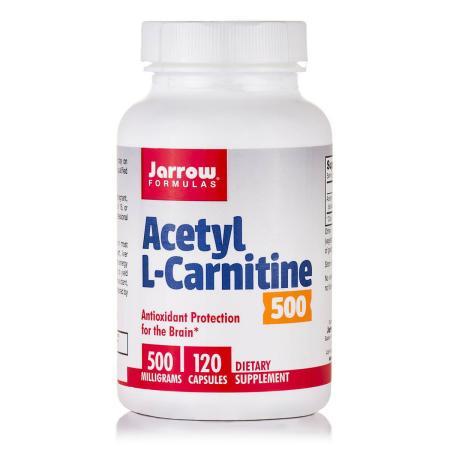 Jarrow Formulas Acetyl L-Carnitine 500 mg, 120 капсул