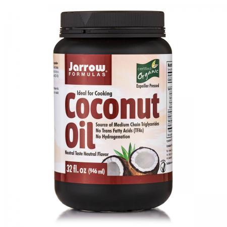 Jarrow Formulas Organic Coconut Oil, 946 грам