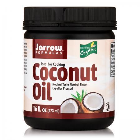 Jarrow Formulas Organic Coconut Oil, 473 грамм