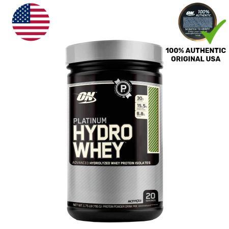 Optimum Platinum Hydro Whey, 795 грамм