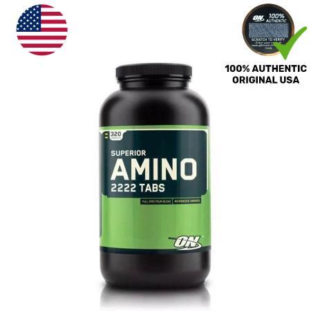 Optimum Superior Amino 2222, 320 таблеток