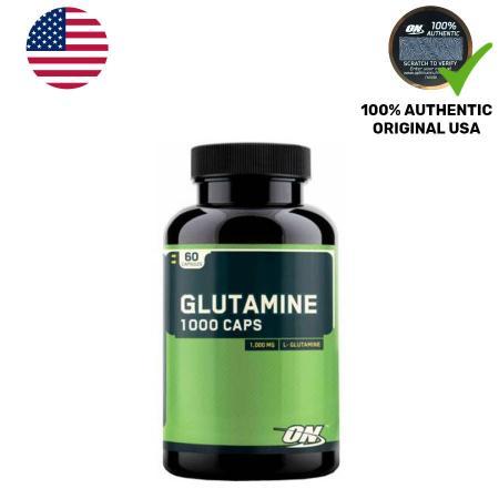 Optimum Glutamine 1000, 60 капсул