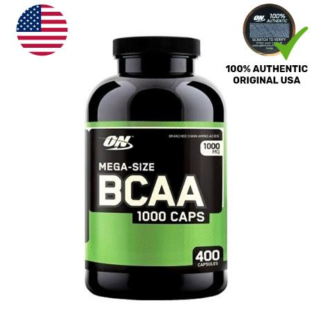 Optimum BCAA 1000, 400 капсул