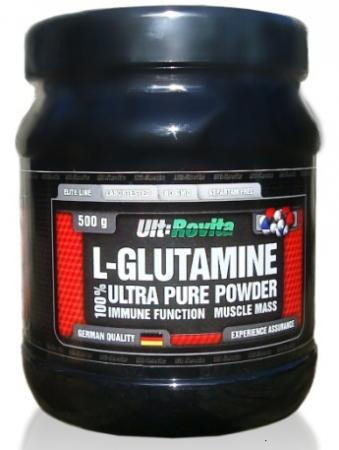 Ult:Rovita L-Glutamine Powder, 500 грамм