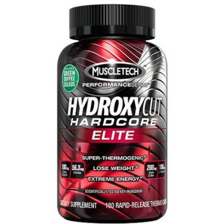 Muscletech Hydroxycut Hardcore Elite, 180 капсул